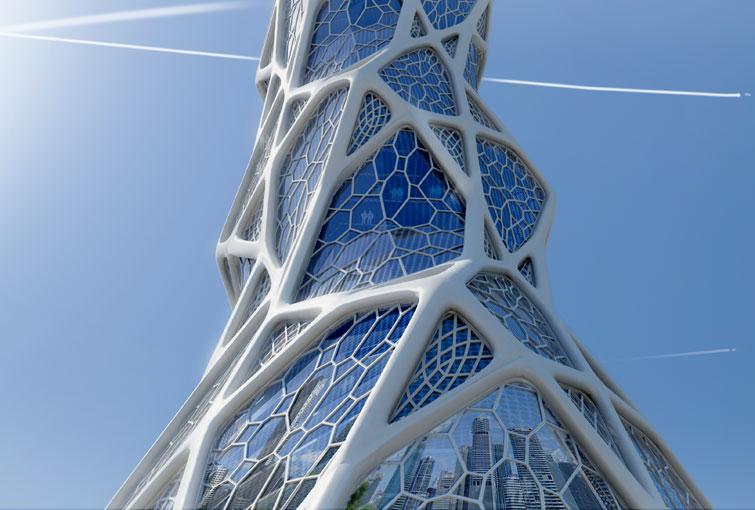 Bionic Tower LAVA