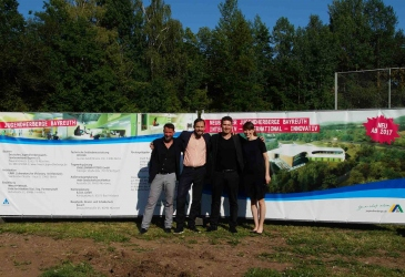 GROUND BREAKING EVENT FOR BAYREUTH YOUTH HOSTEL