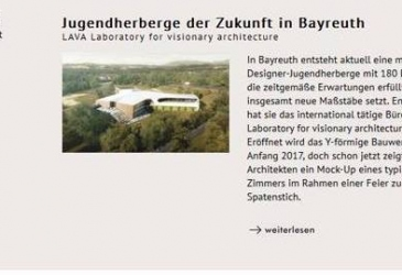 Bayreuth Hostel in AIT magazine