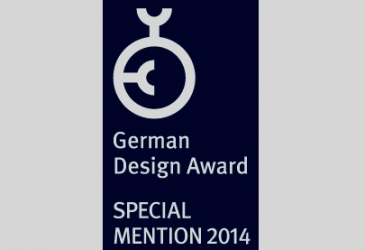 SPECIAL MENTION IN GERMAN DESIGN COUNCIL AWARDS