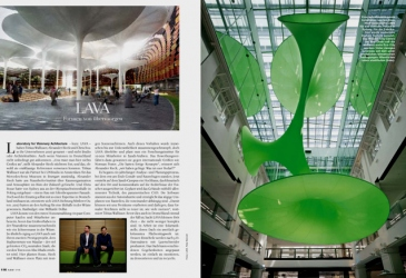 YOUNG GERMAN ARCHITECTS IN AW MAGAZINE