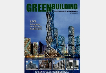 LAVA IS FRONT COVER OF CANADIAN GREEN MAG