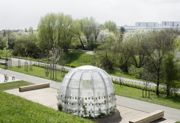 Membrane Pavilion with Janet Laurence IGA Berlin