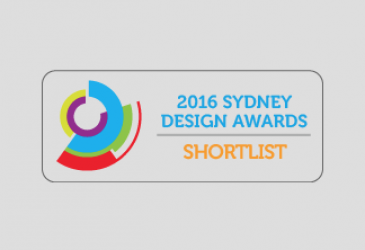 SYDNEY DESIGN AWARD SHORTLIST