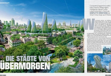 German magazine 'HÖRZU WISSEN'  interview