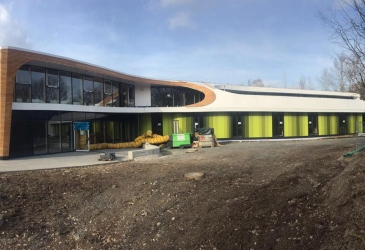 Youth hostel nears completion