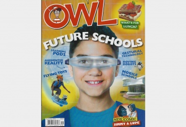 CLASSROOM OF THE FUTURE IN KIDS MAGAZINE