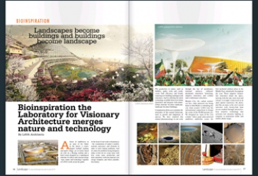 LAVA in LANDSCAPE MIDDLE EAST MAGAZINE
