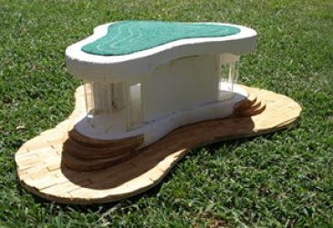 Year Nine student makes model of Future Classroom