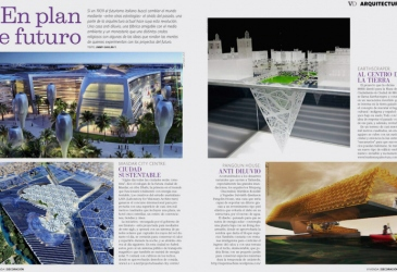 """Vivienda y Decoración"" magazine features Masdar City Centre"