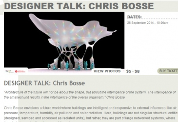 CUSP designer talk at Glasshouse Port Macquarie
