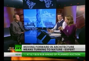Chris Bosse interview on Prime Time Russia RT, Moscow