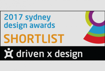 TWO PROJECTS SHORTLISTED SYDNEY DESIGN AWARDS