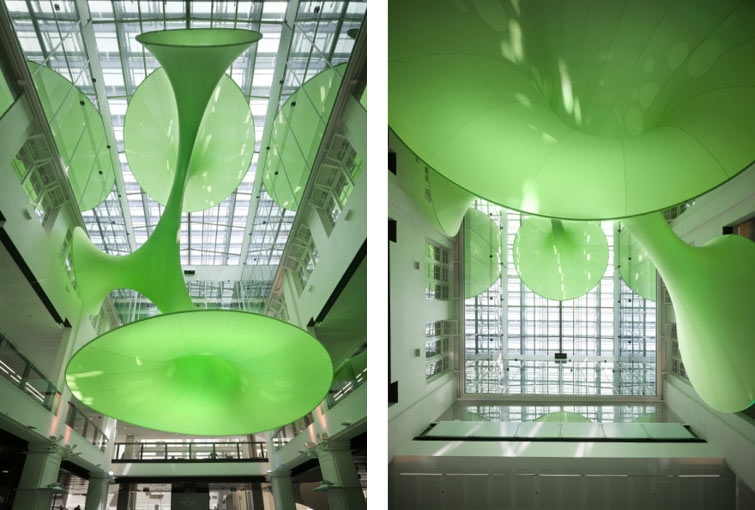 custome house green void