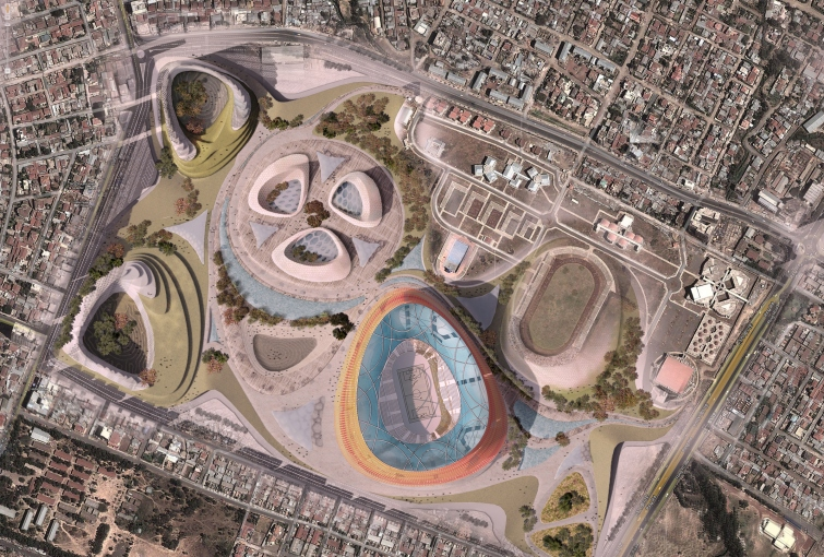 addis national stadium lava masterplan